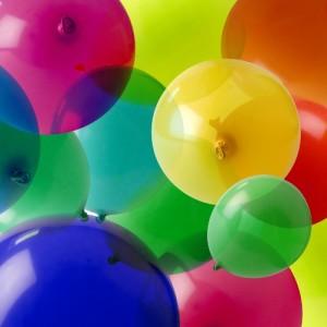 globos de colores - comercial persan