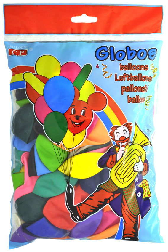 Bolsa 100 globos fuchsia  ref. 10309