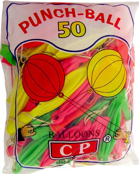 10917 Globos PunchBall