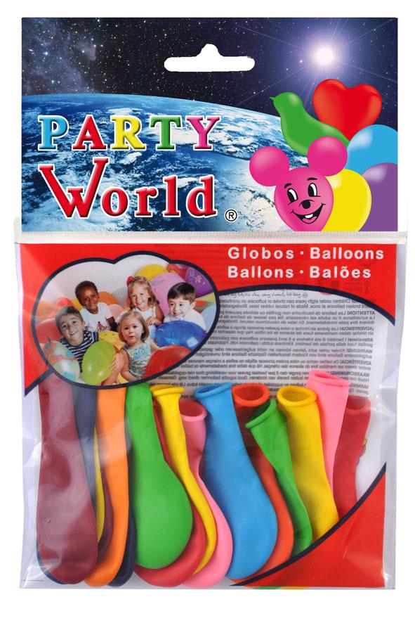 Bolsa 16 globos Ping Pong 11487