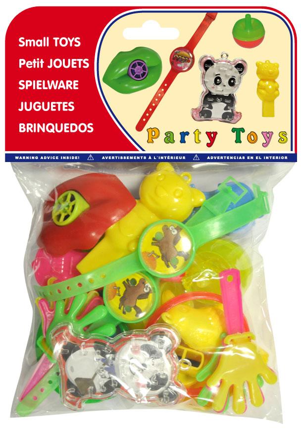 Bolsa 20 juguetes surtidos de cumpleaños infantiles ref. 20145