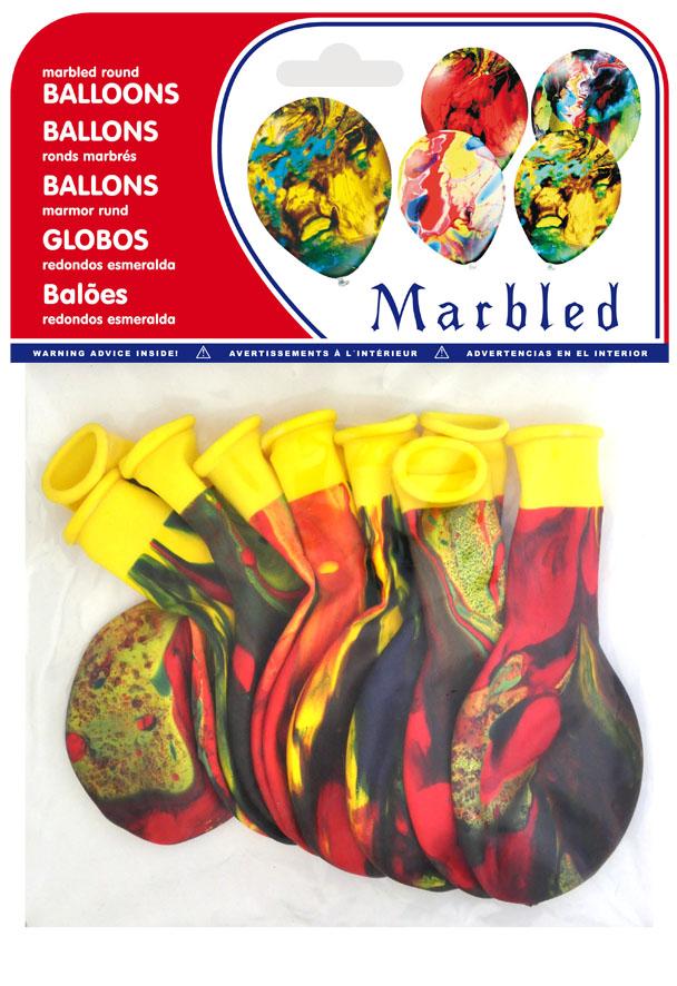 Bolsa 10 globos color esmeralda ref. 20154