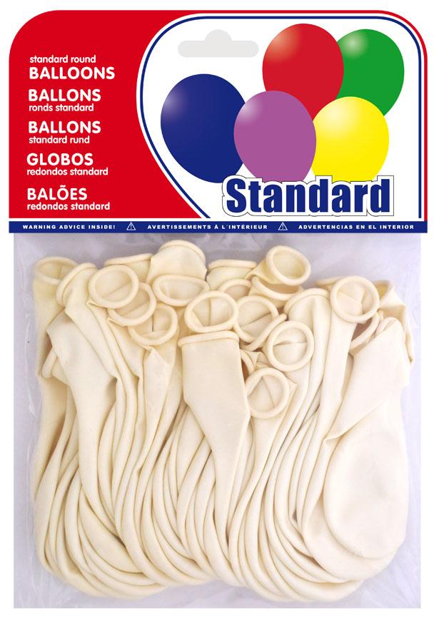 Bolsa 20 globos blancos  ref. 20201