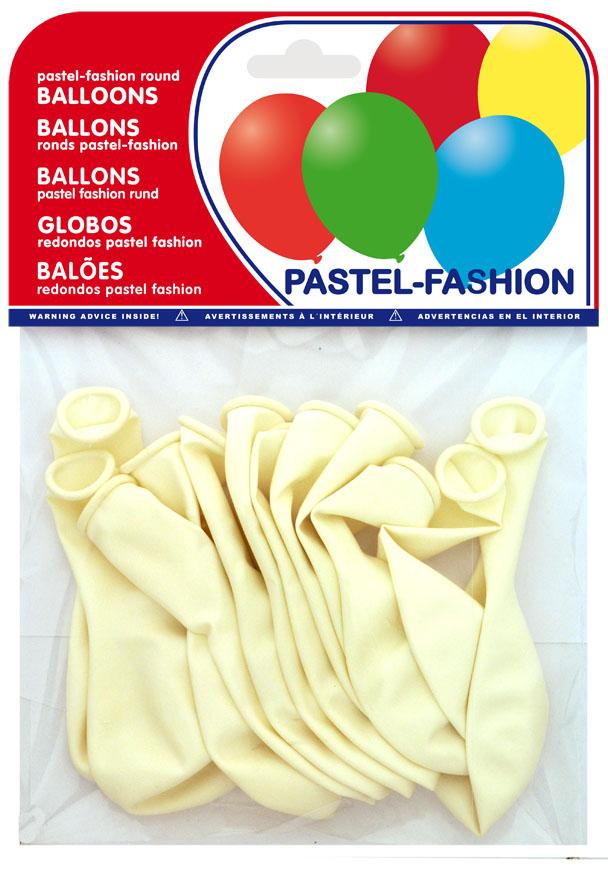 Bolsa 12 globos blancos ref. 20401