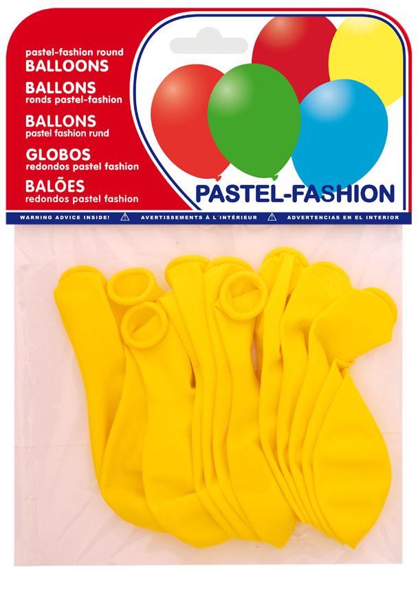 Bolsa 12 globos amarillos ref. 20402