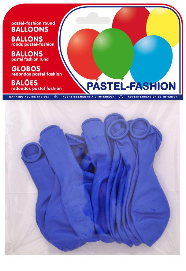 Bolsa 12 globos azul medio ref. 20407