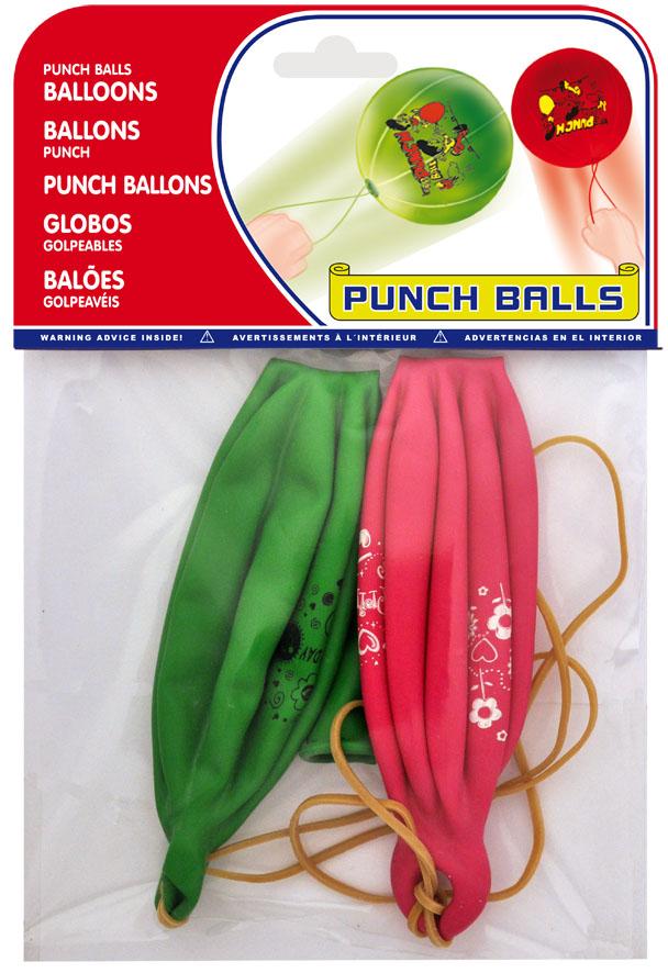 Bolsa 2 globos puch ball colorees surtidos ref. 20452