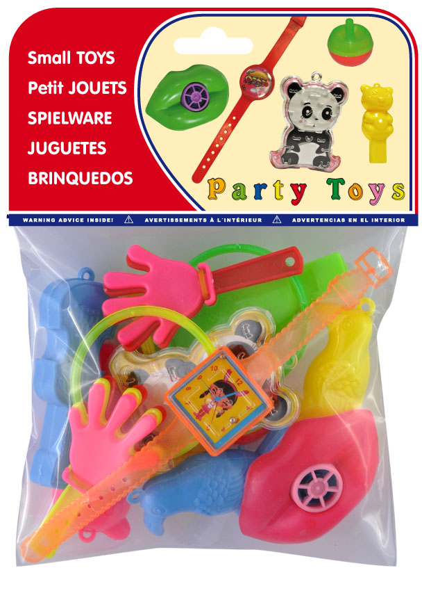 Bolsa 15  juguetes surtidos ref. 20458