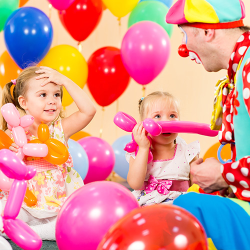 3 ways to make the party fun with balloons