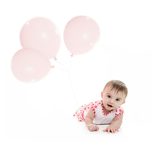 Balloons for newborns, unique presents