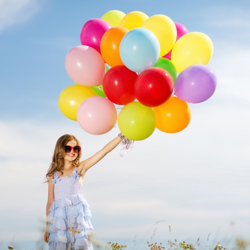 Helium balloons, your best solution